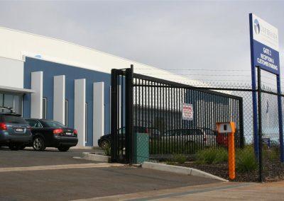 Commercial gate motor